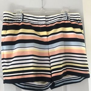 Stripped shorts -The Limited size 8